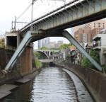 昌平橋から御茶ノ水方面の眺め