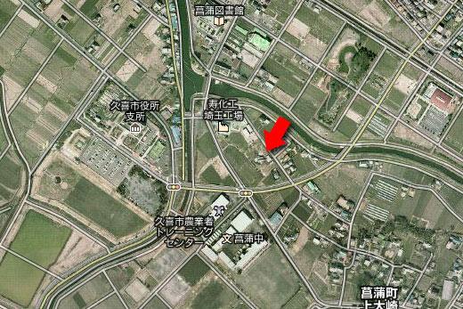 菖蒲町航空写真・ラブミー農場