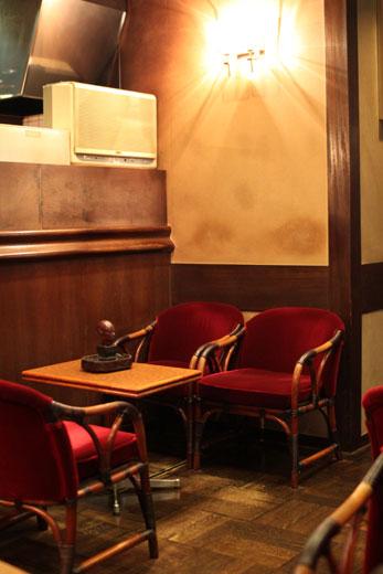 「喫茶 ショパン」座席