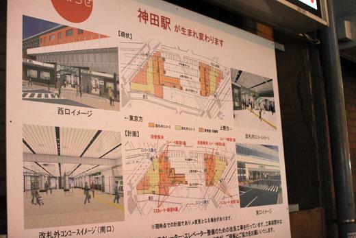神田駅が生まれ変わります