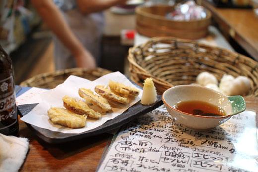 大衆酒場「天国」・芋の天ぷら