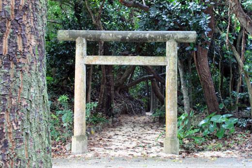 竹富島・鳥居