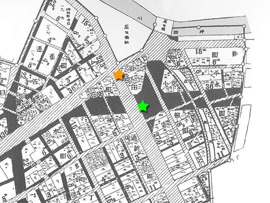 帝都復興区画整理図(須田町周辺)