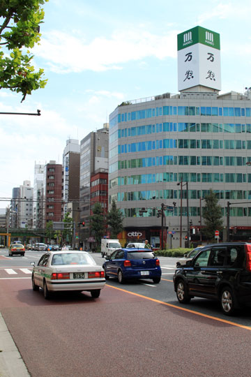 万惣と須田町交差点