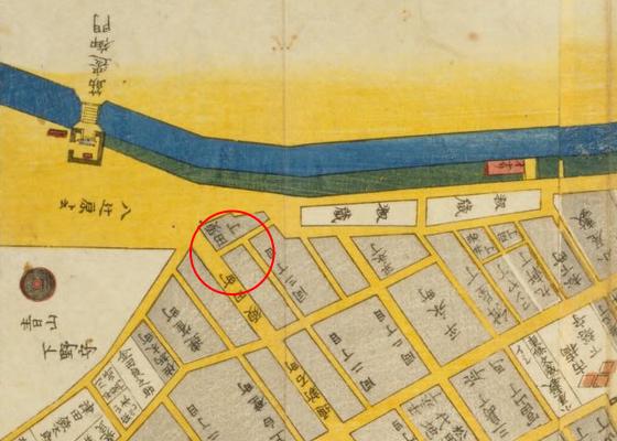 江戸時代の神田須田町周辺