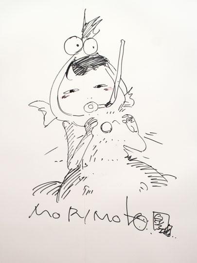 大友克洋GENGA展・漫画家さんサイン02