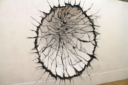 大友克洋GENGA展・『童夢』の壁02