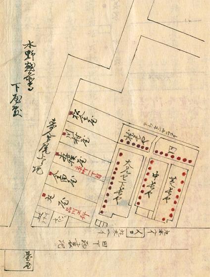 岡場所「三田の三角」