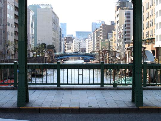 柳橋からみる現在の浅草橋