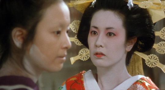 映画「吉原炎上」・名取裕子
