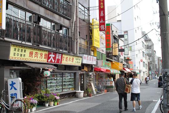 東上野・キムチ横丁