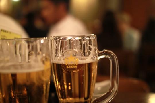 ビアホールライオン 銀座7丁目店 ビール