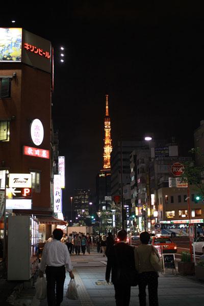 夜の浜松町