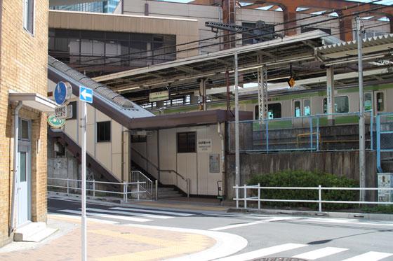 JR浜松町駅・金杉橋口