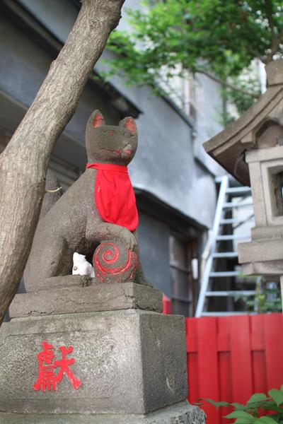 讃岐稲荷神社・小白稲荷神社の狐