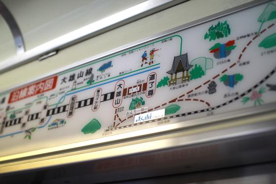 大雄山線・路線図