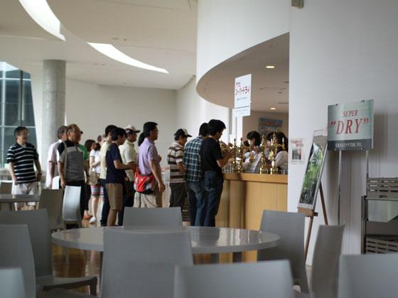 アサヒビール神奈川工場・スーパードライタイム