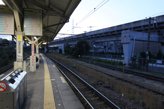 鶴見線・浜川崎駅その四