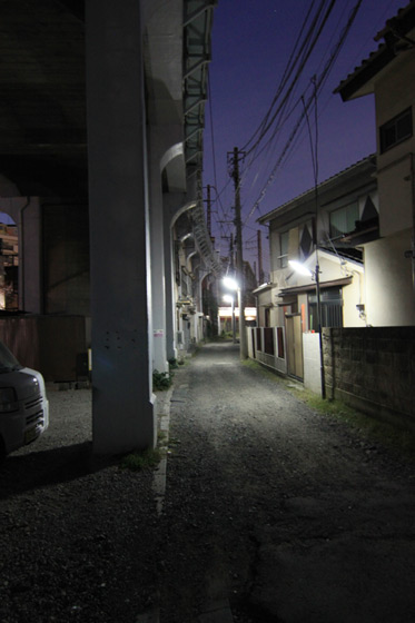 国道駅から鶴見駅への高架