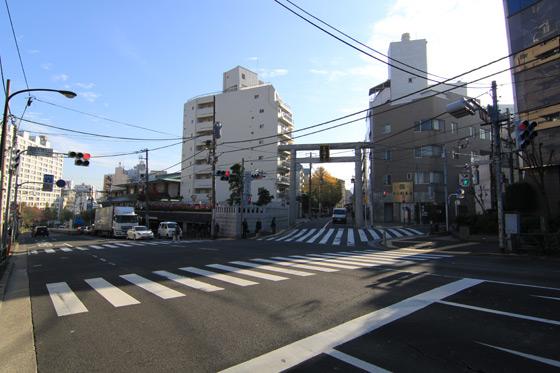 湯島天神・切通坂上(2012年)