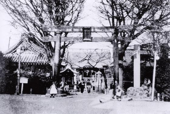昭和初期の湯島天神