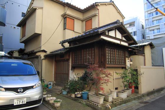 湯島の住宅