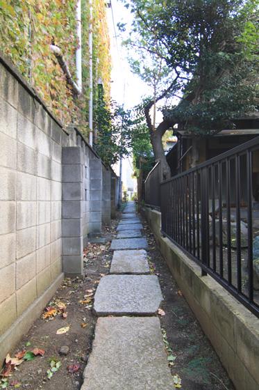 湯島天神・花街跡の小路