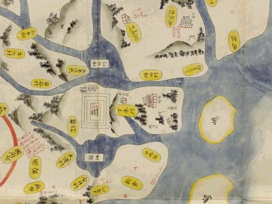 太田道灌の頃の江戸図