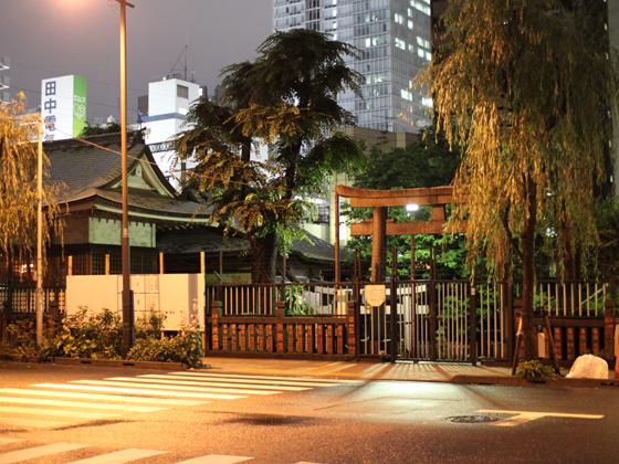 現在の柳森神社