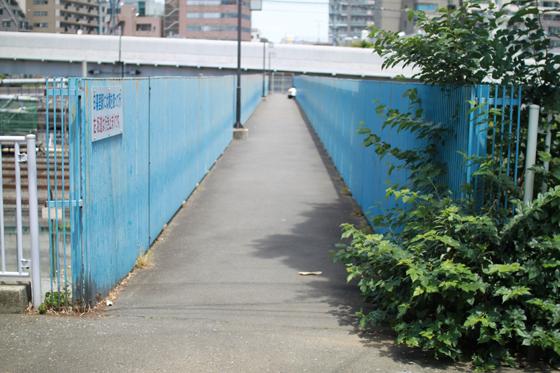 芋坂跨道橋