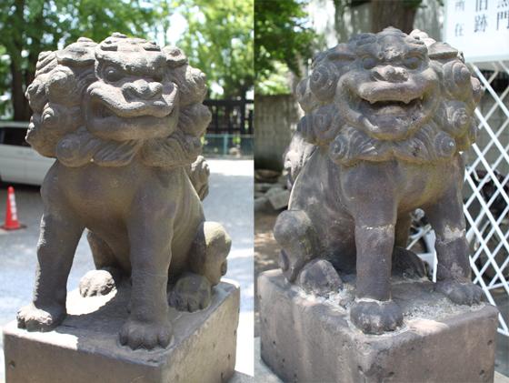 円通寺・狛犬