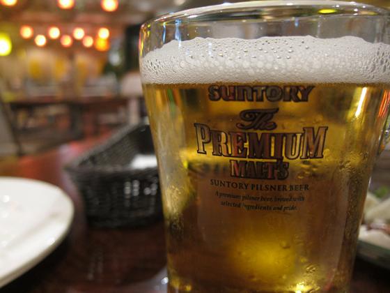 灼熱ジャングルビアガーデン ビール
