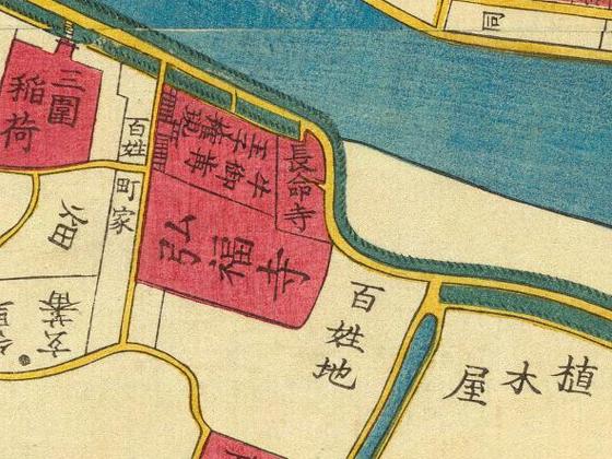 江戸後期の向島