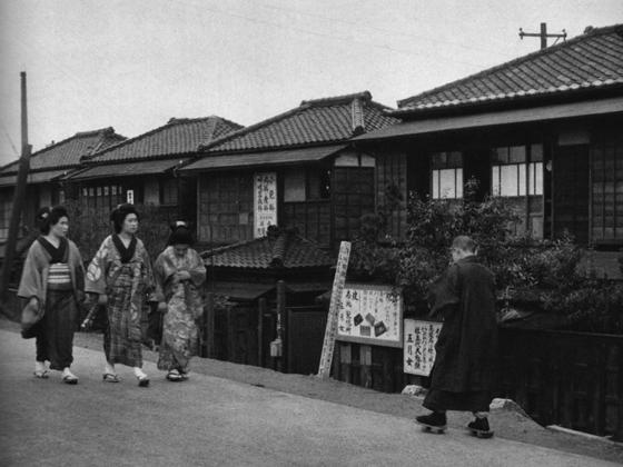 昭和11年頃の墨堤通り