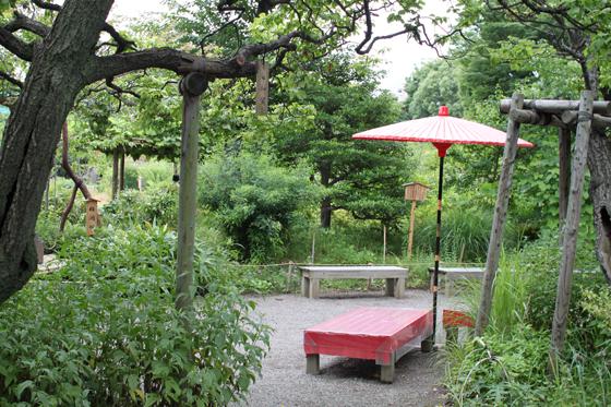 向島百花園、園内 その一