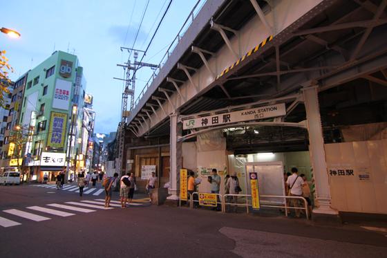 2013年現在の神田駅
