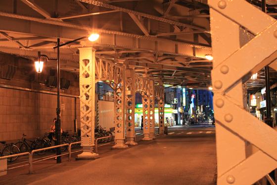 神田駅脇・新石橋架道橋