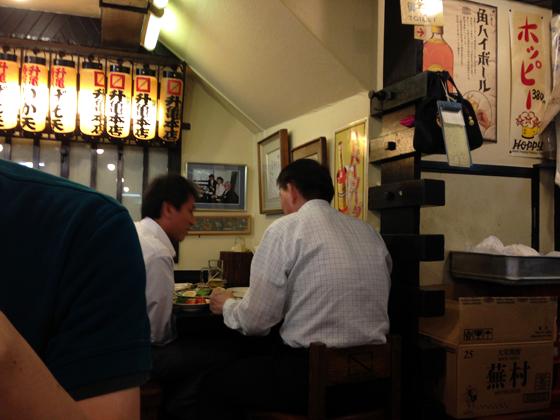 酒蔵「升亀」、高円宮様席