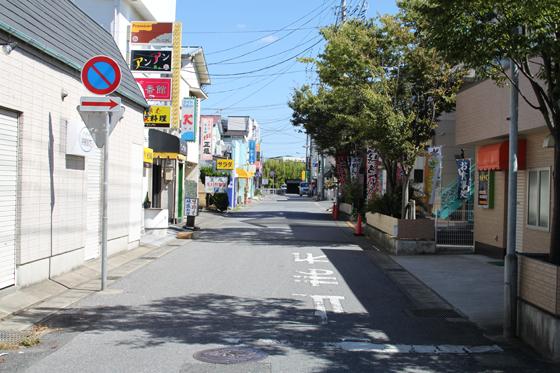 館山・渚銀座商店街