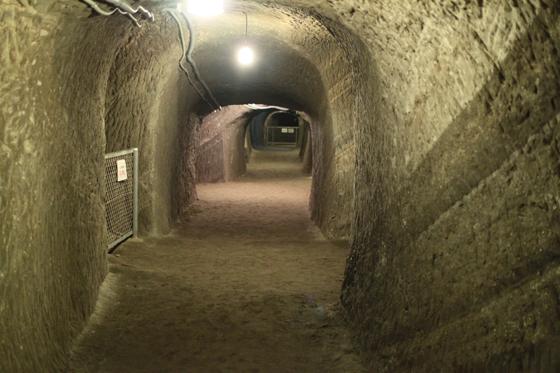 赤山地下壕・その三