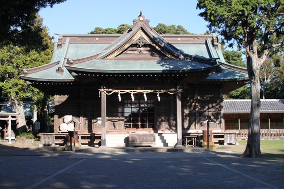 鶴谷八幡宮の社殿