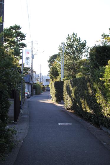 館山市内・閑静なはずの住宅地