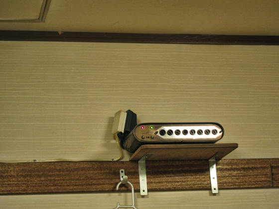 居酒屋鶴亀・謎の機器