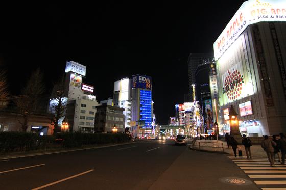 夜の秋葉原2013