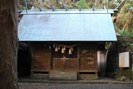 船越鉈切神社の社殿
