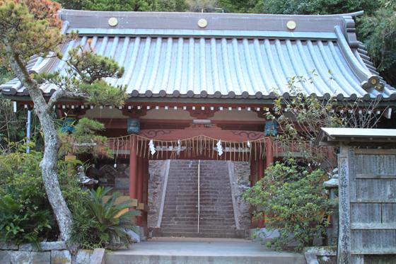 洲崎神社の門