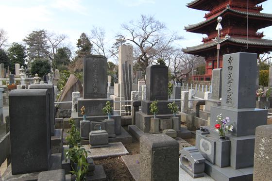 幸田家の墓