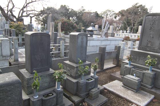 幸田成豊の墓