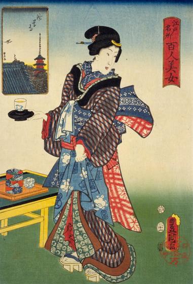 浅草 水茶屋の女
