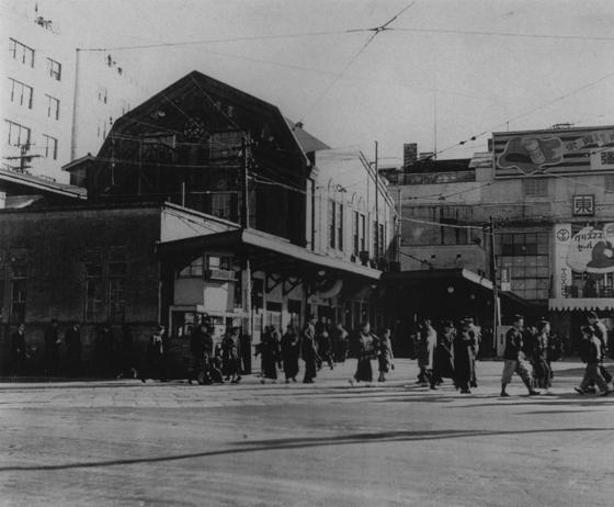 昭和20年代の渋谷駅